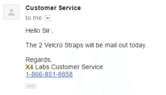 x4 labs customer service