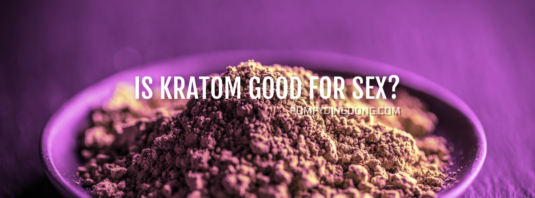 is kratom good for sex