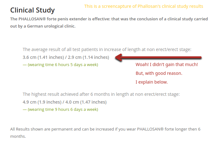 phallosan forte average results